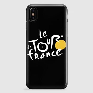 Le Tour De France Bicycle Bike Cycling iPhone X Case