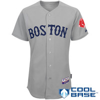 Boston Red Sox Authentic Road Cool Base Jersey