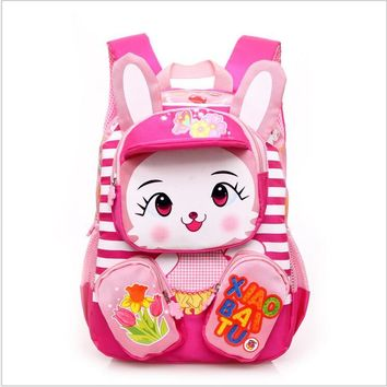 2017 Hot Sale Toddler kids Book Bag Kindergarten Boy Backpack Children School Bags Cartoon waterproof Backpack Baby bags