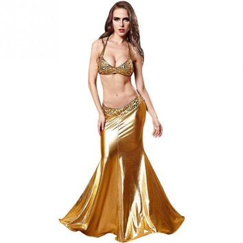 DCCKWQA Women Mermaid Dresses Cosplay Role Playing Clothes Erotica Luxury Halloween Costumes