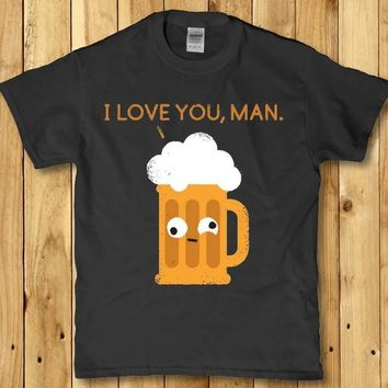 Funny beer drinking adult t-shirt