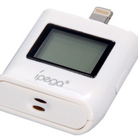 Digital Breathalyzer Blood Alcohol Tester with Backlight for iPhone 5 (White)