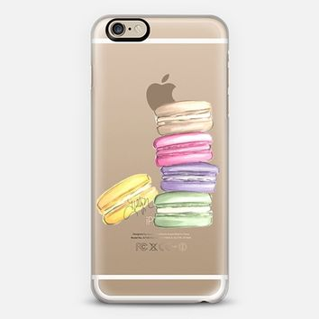 Macarons Part II (Transparent) iPhone 6 case by H. Nichols Illustration | Casetify