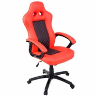Goplus High Back Race Car Style Bucket Seat Office Desk Chair Gaming Chair