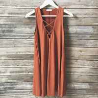 The Laci Dress (Rust)