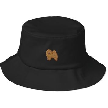 Chow Chow Bucket Hat For Men | Funny Dog Lover Cap | The Jazzy Panda