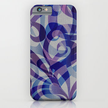 Floral Abstract G287 iPhone & iPod Case by MedusArt