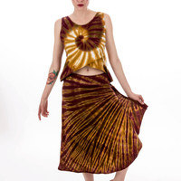 Amber Waves Lotus skirt, Hippie clothes, Festival skirt, Bohemian