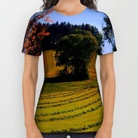 Tree watching in springtime All Over Print Shirt by Patrick Jobst   Society6
