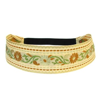 Provence, Vintage Gold Flower Headband