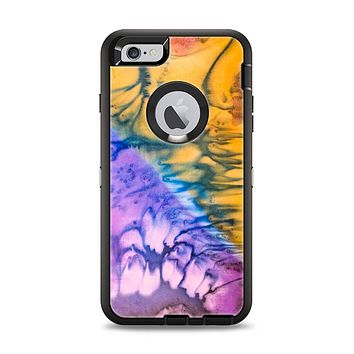 The Vivid Colored Wet-Paint Mixture Apple iPhone 6 Plus Otterbox Defender Case Skin Set