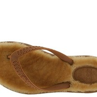 UGG Fluffie Chestnut/Nat Brown Tipped - Zappos.com Free Shipping BOTH Ways