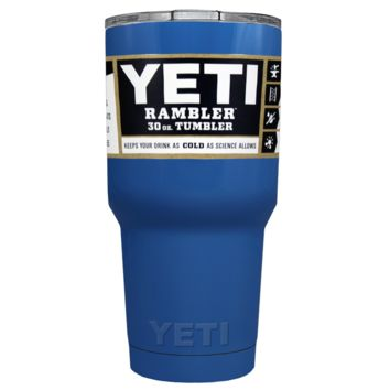 Promotional YETI 30 oz Skyline Blue Custom Tumbler