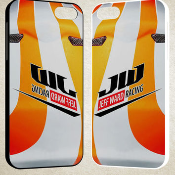 Hot New Jeff Ward Motocross Racer A1796 iPhone 4S 5S 5C 6 6Plus, iPod 4 5, LG G2 G3, Sony Z2 Case
