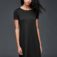 Softspun knit t-shirt dress