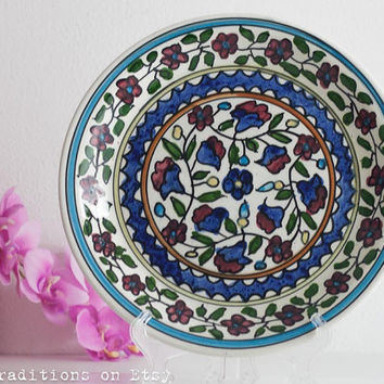 Ceramic Wall Hanging Plates Glamorous Shop Hand Painted Wall Plates On  Wanelo Inspiration