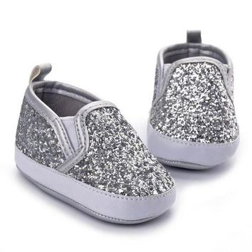 Soft Sole Anti-slip Glitter Baby Shoes