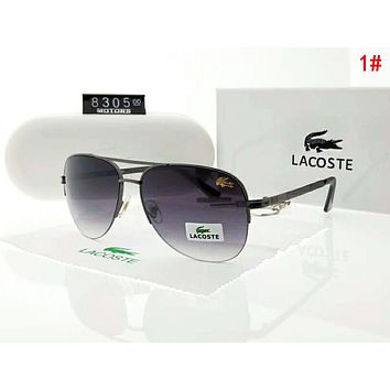 Lacoste Popular Men Women Casual Sun Shades Eyeglasses Glasses Sunglasses 1#