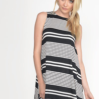 Striped Tank Dress - Large