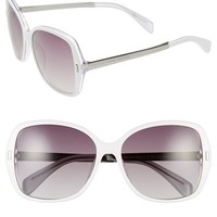 Women's MARC BY MARC JACOBS 57mm Oversized Sunglasses