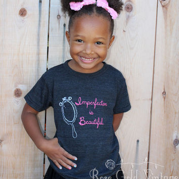 Imperfection is Beautiful Tee (Toddler)