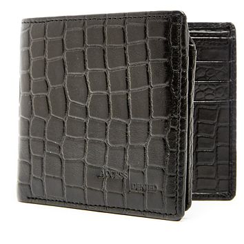 Bifold Wallet With Flip-Up ID Slot