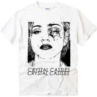 New Madonna Crystal Castles#2 music dance t-shirt