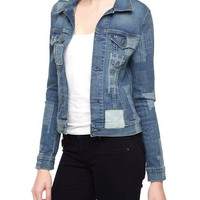 True Religion Dusty Western Patchwork Womens Jacket - Wondering Traveler