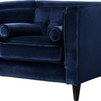 Tyla Velvet Club Chair