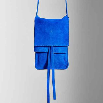 Ecote Suede North/South Crossbody