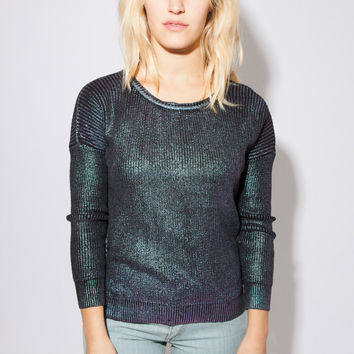 Oil Slick Sweater