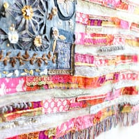 Giveaway! Win Our One-Of-A-Kind American Flag - Free People Blog