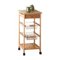 Small Gourmet Kitchen Cart
