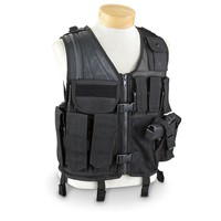 5ive Star Gear Crossdraw Military-style Tactical Vest - 622262, Vests at Sportsman's Guide