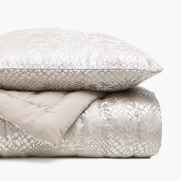 SNAKESKIN JACQUARD QUILT - VIEW ALL - MID SEASON SALE | Zara Home United States of America