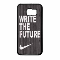 Nike Future On Wood Gray Samsung Galaxy S6 Case
