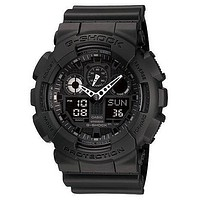 Casio XL G-Shock - Stealth Black - Magnetic Resistant - World Time - 200m