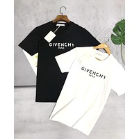Givenchy 2019 new broken letter print T-shirt