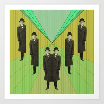 spies are everywhere Art Print by ameliedufduf
