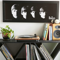 Meet The Beatles Framed Wall Art - Urban Outfitters