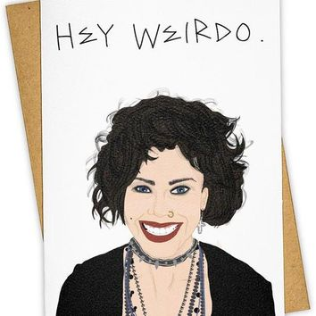 Hey Weirdo The Craft Card