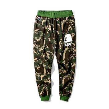 "AAPE By A Bathing Ape ""APE (R)"" J Reg Pants"