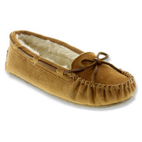 Minnetonka Cally Slipper | Women's - Cinnamon Suede - FREE SHIPPING at OnlineShoes.com