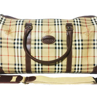 Authentic Burberry Antique Travel bag