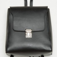 BLACK BUCKLE BACKPACK