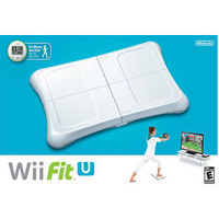 New Nintendo Wii Fit U With Wii Balance Board Accessory & Fit Meter - Wii U