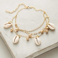 Layered Seashell Ankle Bracelet