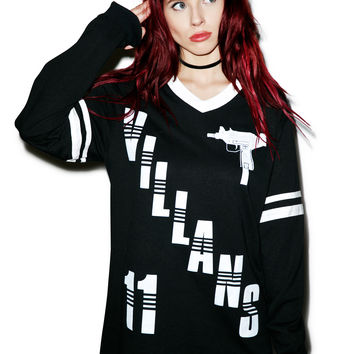 Villans Uzi Hockey Jersey Black