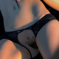 Open Panties with Cross Straps