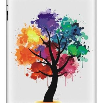 Hot Sale Tablet Partial Sticker For iPad Vinyl Decal Cartoon Colorful Skin Simple Design Print For iPad Air Mini Tablet Macbook